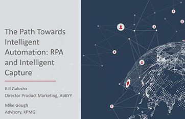 RPA and intelligent capture webinar