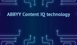 The new Content IQ Platform for the Enterprise - ABBYY Vantage