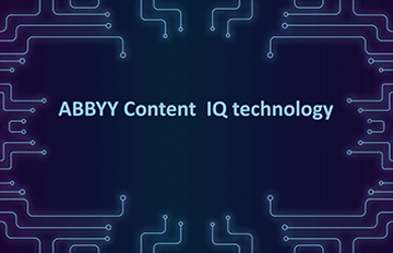 ABBYY Content IQ technology