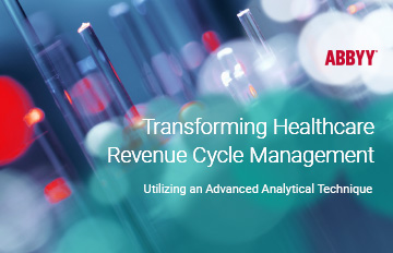 "thumbnail for the ebook ""Transforming Healthcare Revenue Cycle Management"""