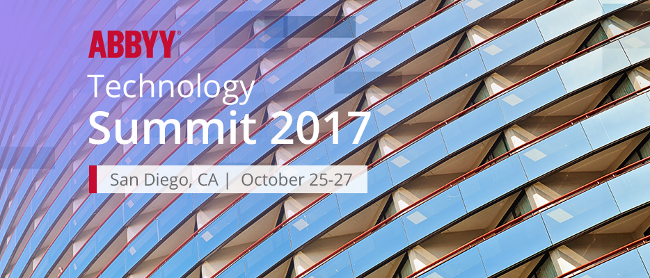 Solving digital transformation challenges: 5th Annual ABBYY Technology Summit 2017 | ABBYY Blog Post