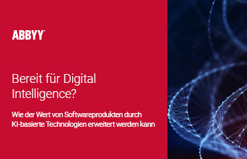 KI und Digital Intelligence für Softwareanwendungen